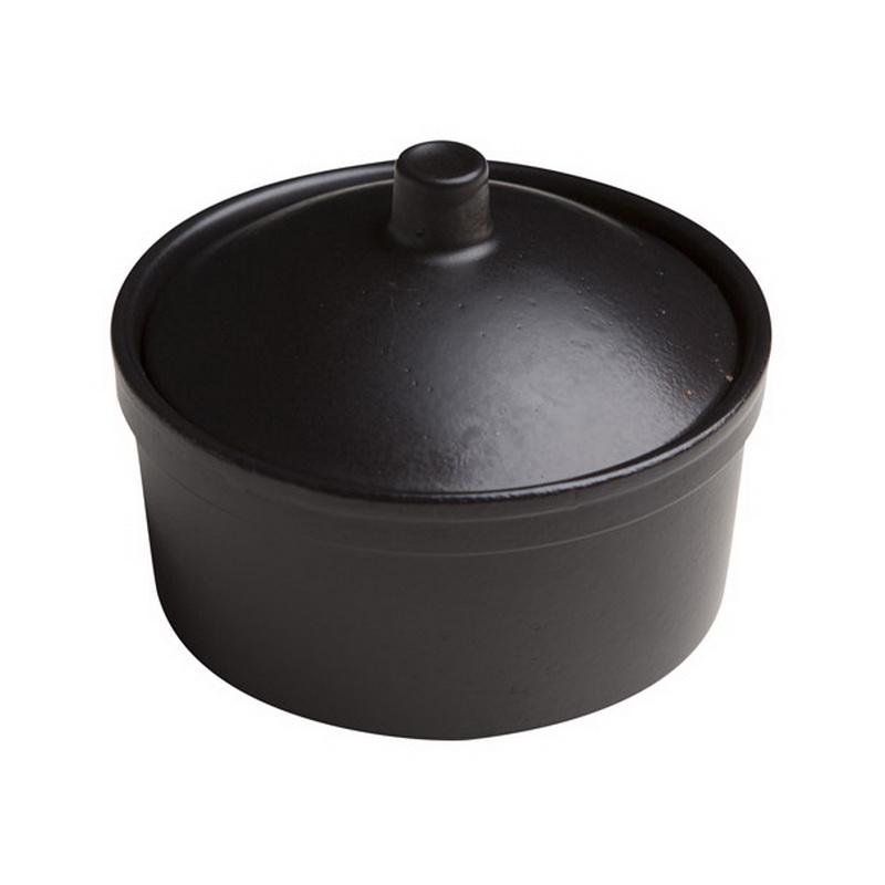 Cocotte 12cm negra