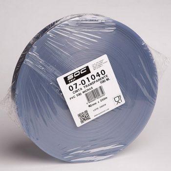 Cinta transparente PVC 200micras 250m x 60mm