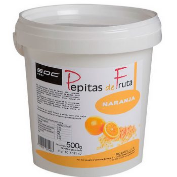 500g PEPITAS DE NARANJA 3/5mm