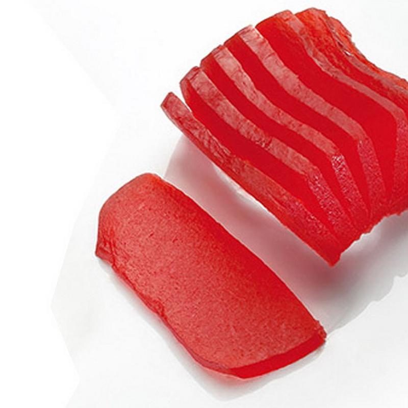 4kg Filetes de fruta rojo pre cortado