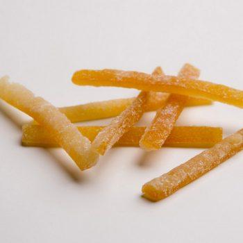 Bastones de piel de naranja recto  calibrado 5-7 cm + dextrosa