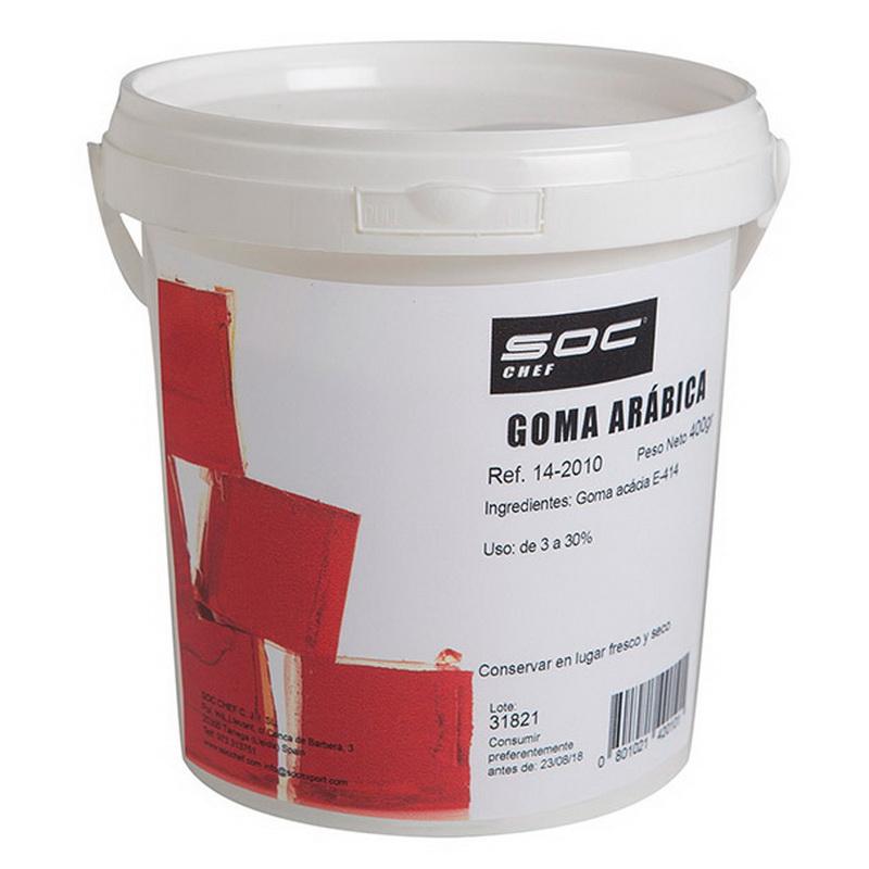 Goma arábica 400g estabilizante y espesante Soc Chef