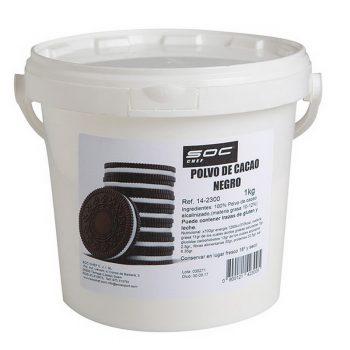 1kg Polvo de Cacao negro  (tipo Oreo)