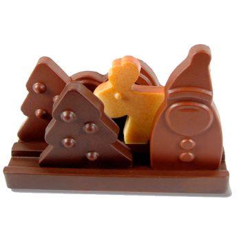 Kit Navidad Choco paisaje 140x72x115 (h) mm – 2 kit cada caja