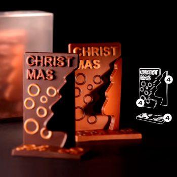 Kit Arbol Navidad 100x52x150 (h) mm – 4 kit cada caja