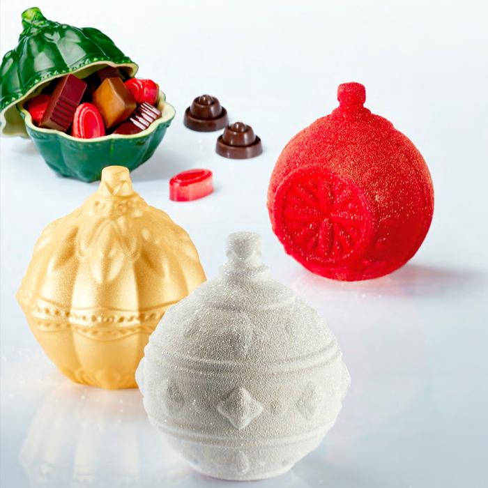 Kit Xballs - 3 disenos para hacer 3 bolas completas de Navidad