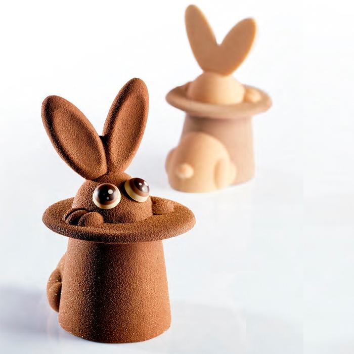 Kit Magic Bunny - kit para hacer 2 conejos con sombrero