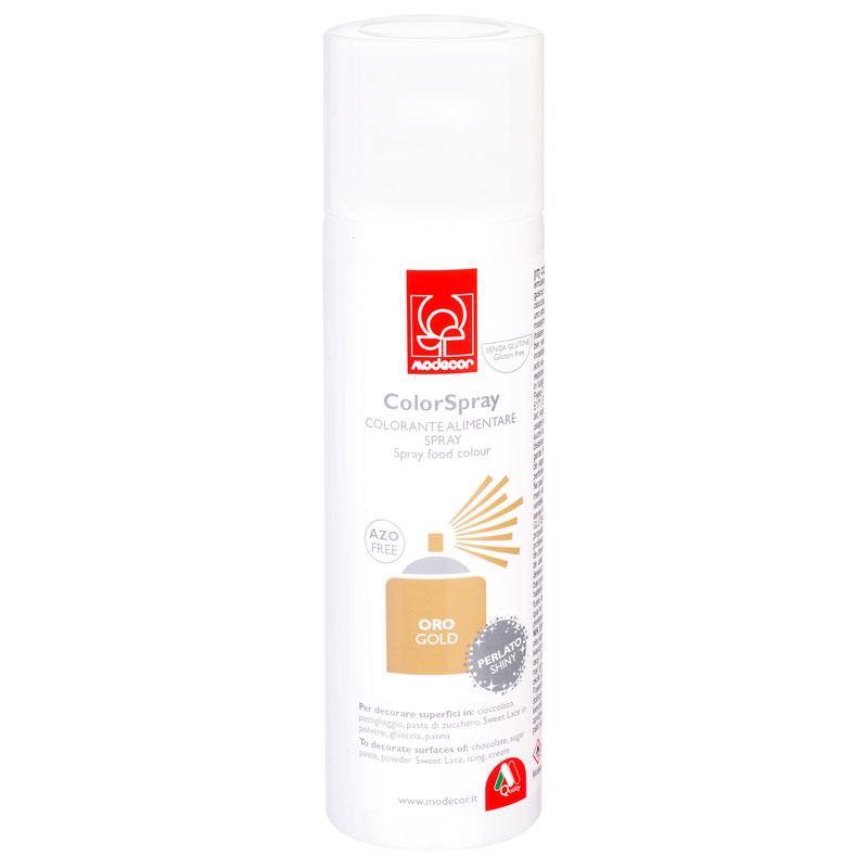 COLORANTE SPRAY PERLADO 250ml ORO