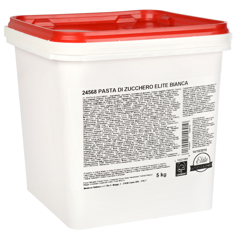 PASTA DE AZUCAR ELITE BLANCA 5 KG