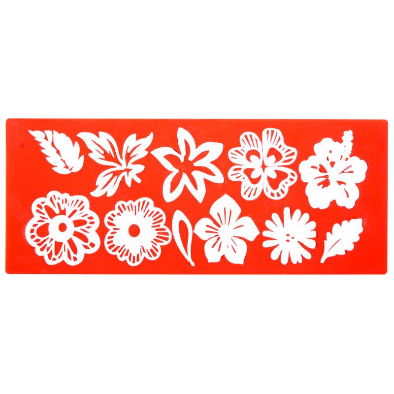 MOLDE SILICONA FLOWER MIX PARA SWEET LACE