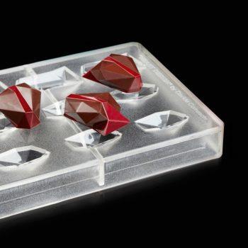 HEART molde en policarbonato - 3 formas para hacer 5 corazones