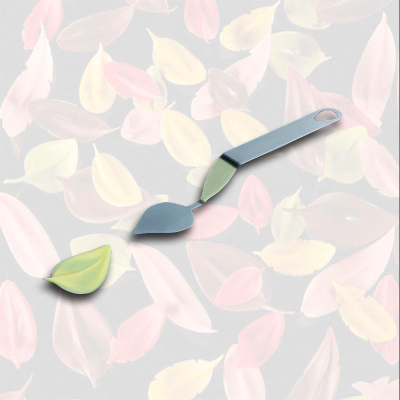 FLYCHOC herramienta en Inox large leaf S 40x30 mm