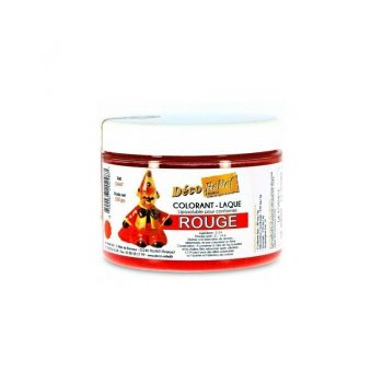 COLORANTE LACA LIPOSOLUBLE DECORELIEF – ROJO 100 GRS