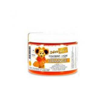 COLORANTE LACA LIPOSOLUBLE DECORELIEF – NARANJA 100 GRS