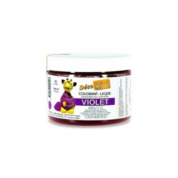 COLORANTE LACA LIPOSOLUBLE DECORELIEF – VIOLETA 100 GRS