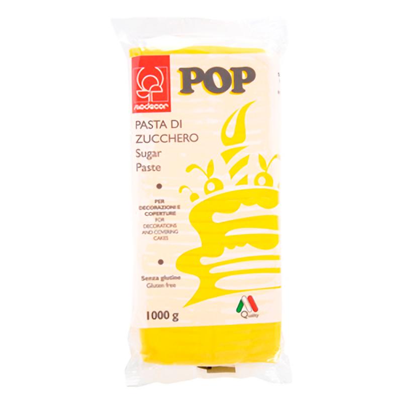 FONDANT 1KG POP AMARILLO SOL