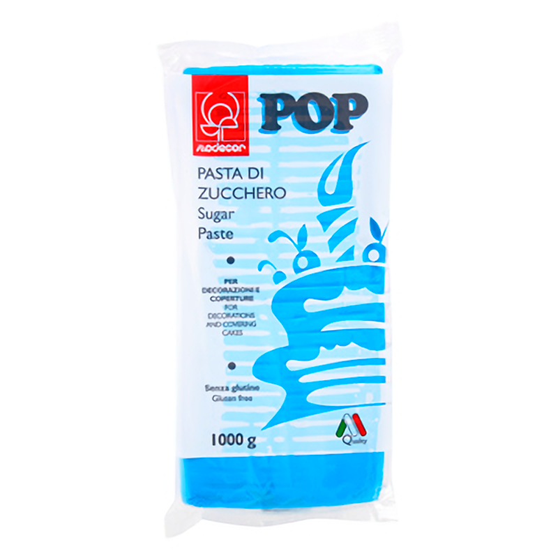 FONDANT 1KG POP CERÚLEO