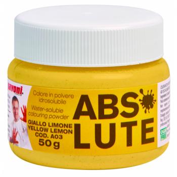 Polvo Hidrosoluble gr. 50 – amarillo limon