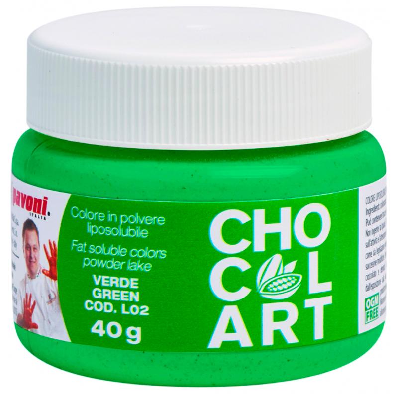 Polvo liposoluble gr.40 verde