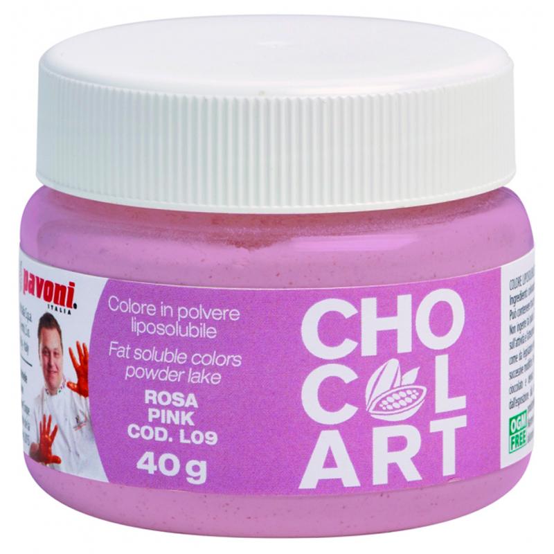 Polvo liposoluble gr.40 rosa