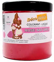 COLORANTE LACA LIPOSOLUBLE DECORELIEF – ROSA NATURAL 100 GRS