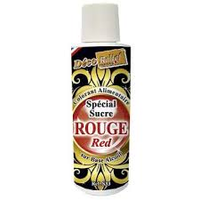 COLORANTE LIQUIDO HIDROSOLUBLE ROJO DECORELIEF S33