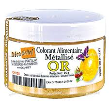 COLORANTE POLVO METALIZADO ORO DECORELIEF CH150