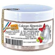 COLORANTE POLVO METALIZADO PLATA DECORELIEF CH151