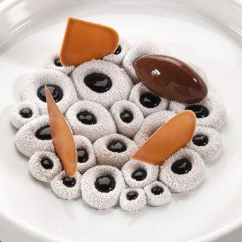 Molde de silicona Mini Coral Pavoni TOP10 permite variados usos en pasteleria y restauración.