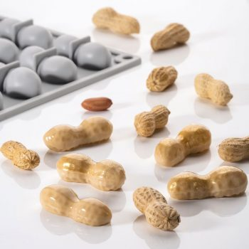 Molde cacahuete de silicona Pavoni GG014