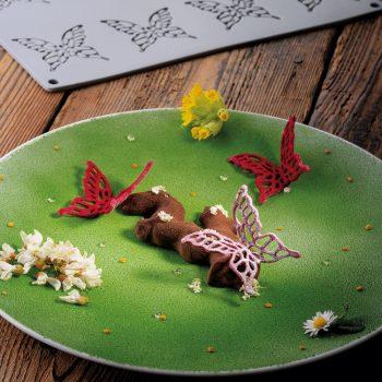 Molde de silicona Mariposa Grande GG050 Pavoni Gourmand gg050_griffa_01