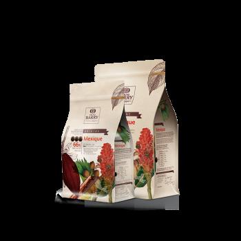 Cobertura de chocolate negro Orígenes México 75% Barry 1 kg