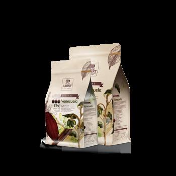 Cobertura de chocolate negro Orígenes Venezuela 72% Barry 1 kg