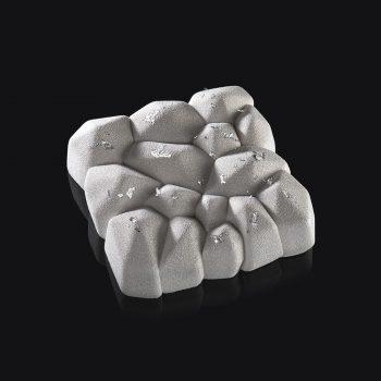 Molde de silicona cuadrado Ametista Pavoni KE050